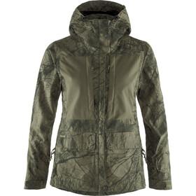Fjällräven Lappland Hybrid Jacket Damen camo green-laurel green